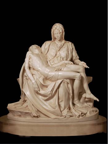 Michelangelo Illustrated Portrait