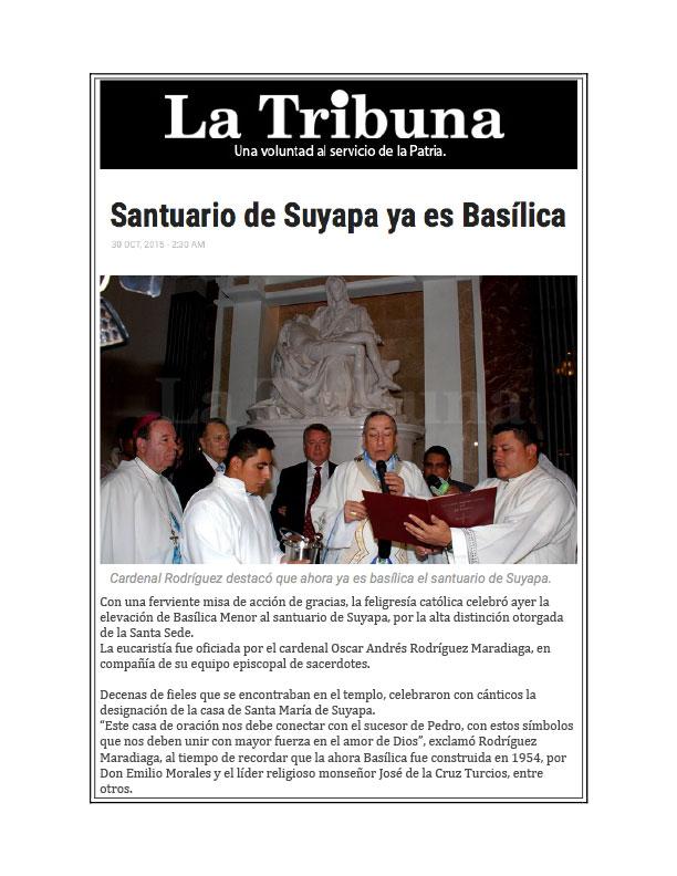 Basilica of Suyapa, Honduras Oct 2015