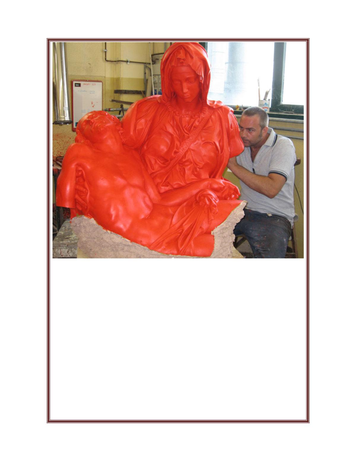 Bronzi per Michelangelo Florence, Italy Nov 10, 2010