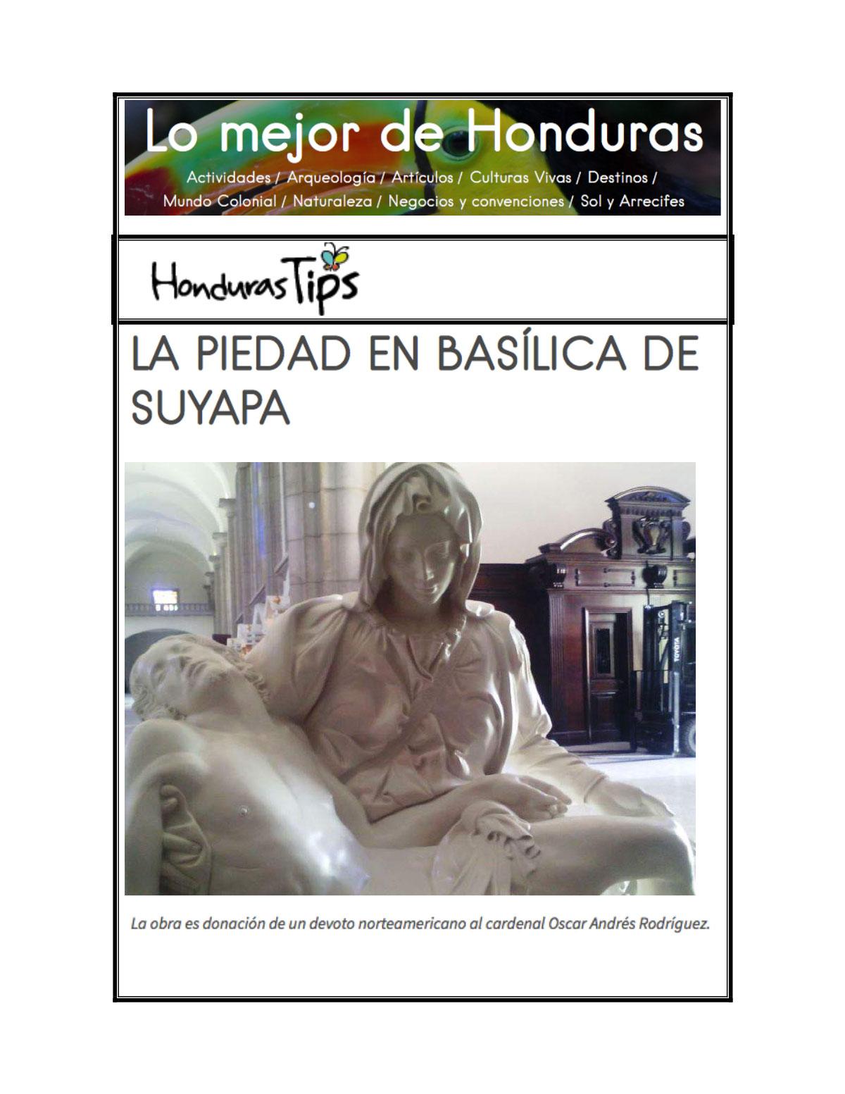 6b. Honduras Tips Basilica de Suyapa Oct 2016